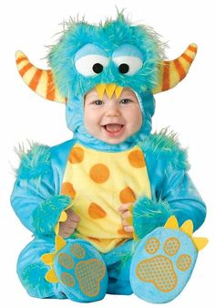 Infant Lil Blue Monster Halloween Costume