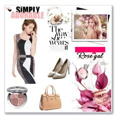 """""""ROSEGAL 22 / I"""" by selmamehic ❤ liked on Polyvore featuring Whiteley and Christian Dior"""