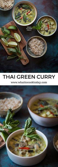 How to make Thai Green Curry (with homemade curry…