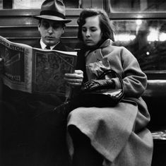 Candid Portraits of 1960s Passengers Riding the NYC Subway - My Modern Metropolis