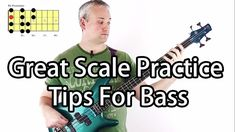 This lesson demonstrates how to use The Study Book Of Scales For Bass Guitar as a basis for your scale practice routine. The Study Book Of Scales is availabl. Bass Guitar Scales, Bass Guitar Chords, Learn Bass Guitar, Bass Guitar Straps, Bass Guitar Lessons, Acoustic Guitar, Guitar Tips, Guitar Pedals, Music Guitar