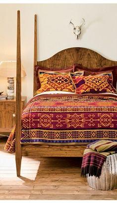 Pendleton Abiquiu Sunset Blanket Collection