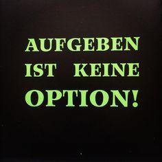 AUFGEBEN IST KEINE OPTION! #MAGICMONDAY...