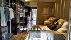 Gambar foto show unit apartemen West Vista Jakarta Barat 1BR. #showunitwestvista #apartemenwestvistajakarta