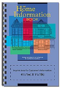 Shop Custom Printed The Home Information Book. As low as $2.48, 44339.