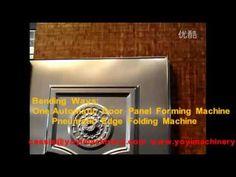 metal security door production line,steel door manufacturing machine