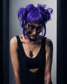 halloween 2017   . . . #horrormakeupexperience  #horrorphotoexperience  #Madrid#halloween #photographerfashion #milk #drops#instaphoto #fashiongram #instagood #models #digitalart #streetmodels #style#woman#freedom
