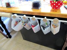 Reusing big plastic water/milk bottles / jugs - So many great ideas that I am going to try!