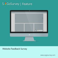 Want to know how popular your #website is?  Use SoGoSurvey's Website Feedback Survey feature.