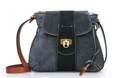 a8946b1552 Leather Cross Body   Shoulder Saddle Handbag