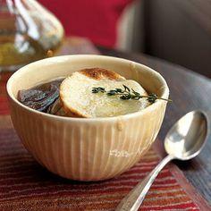 Onion Soup Gratinee | Cookinglight.com