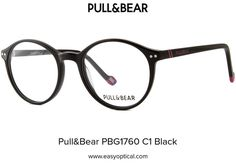 Pull&Bear PBG1760 C1 Black Eyewear, Bear, Glasses, Eyeglasses, Eyeglasses, Bears, Sunglasses, Eye Glasses