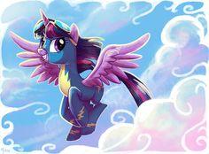 Wonderbolt Twilight by Adlynh.deviantart.com on @deviantART