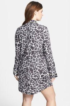 PJ Salvage 'Wild Giraffe' Nightshirt (Plus Size) by PJ SALVAGE on @nordstrom_rack