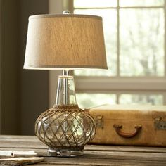 Ryan Glass Table Lamp