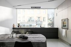 Tidy Kitchen, Kitchen Dining, Dining Room, Nordic Living, Helsinki, Cool Kitchens, Double Vanity, Office Desk, Appliances