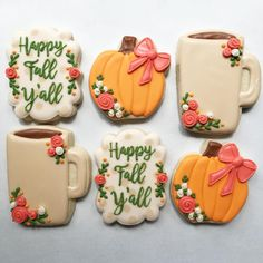 I'm going to pretend it's Fall here in Texas  Keep an eye out for these plus some other cute designs available for order!