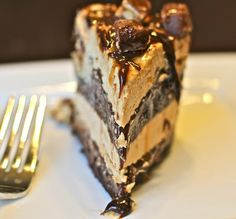 Snickers Ice Cream Cake  from Sprinkle Some Sunshine!
