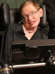 Steven Hawking.  Brilliant British physicist.  Has helped us understand so many things about the universe.  So smart in all ways except the only way that will count at the end.