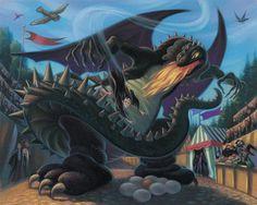 No Mundo dos Livros | Livros, Filmes, Séries, e muito mais...: [Curiosidades] Ilustrações de Harry Potter que você nunca viu!