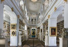 The Duchess Anna Amalia Library (German: Herzogin Anna Amalia Bibliothek) in Weimar, Thuringia, Germany
