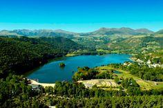 Accueil - Domaine du Lac de Chambon en Auvergne: centraal massief!