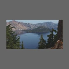 Crater Lake, Oregon Gallery Wrap Canvas by WysWildSide