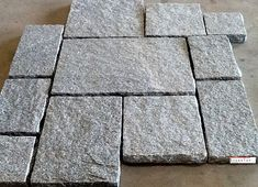 Granite Pavers types and their installations. We find many varieties of pavers stones in the industry. each different types of stones of pavers gives the different feel and durability. Natural Stone Pavers, Paver Stones, Natural Stones, Stepping Stones, Custom Countertops, Quartz Countertops, Granite, Outdoor Spaces, Outdoor Decor
