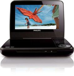"""Philips 7"""" Portable DVD Player PET741B (Certified Refurbished)"""