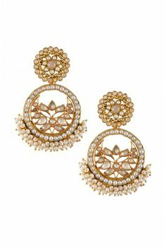 Amrapali- Beautiful pearl and crystal earrings with a perfect traditional look