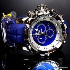 Invicta Reserve Venom sea Dragon Gen Ii Azul Suizo fregona Cronógrafo Reloj Nuevo in Joyería y relojes, Relojes, Relojes pulsera   eBay