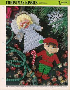 Christmas Kisses Plastic Canvas Pattern by needlecraftsupershop, $4.99