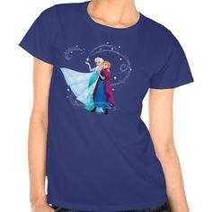Disney Frozen Elsa and Anna - Beautiful Together Tee Shirt