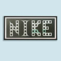 Personalized Name, Child name, Baby, Child, Wall Art, String Art, Izonit, Handmade, Custom, Gift, Home decor, Home, Office, Decorate