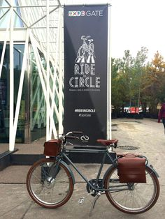 And here we go, Milan is getting ready for Expo 2015 and Velorapida is there  Come and see our Country Man at Expo Gate!  With #Ciclica and #Rideincircle   #velorapida #ebike   #bicielettriche   #cyclechic   #bicichic   #milano   #fashion   #luxury