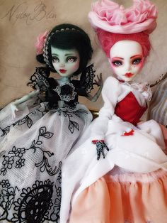 Custom Monster High Dolls      #doll #monsterhigh #repaint