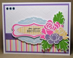 PTI Sweet Spring, Rosie Posie, Celebrations, Faux Ribbon