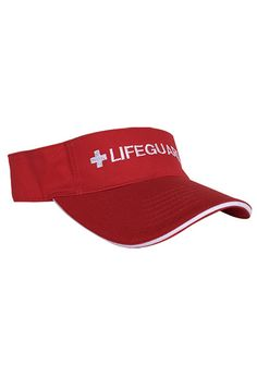 d3a0fef4 Adjustable Sun Visor. Beach Lifeguard