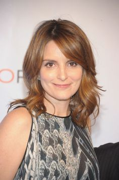 Tina Fey's Hair Color is Looking GORGEOUS These Days (Come See! Now! YOU MUST!): Girls in the Beauty Department