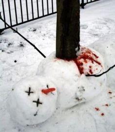 20 Creepy Snowmen from Hell - Joyenergizer