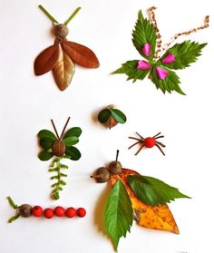 Ways to Play with Nature (Inside & Out) All Month Long - Modern Parents Messy Kids - crafts for kids Kids Crafts, Fall Crafts For Kids, Projects For Kids, Diy For Kids, Craft Projects, Arts And Crafts, Creative Crafts, Leaf Crafts, Craft Ideas