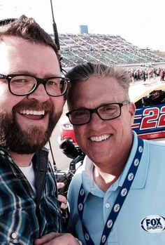 Rutledge Wood with the late Steve Byrnes. Rutledge Wood, Steve Byrne, Thought Provoking, Nascar, Racing, People, Art, Running, Art Background