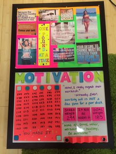 Fitness Motivational Quotes : Vision Board Ideas For Weight Loss Motivation Wall, Fitness Motivation Quotes, Health Motivation, Weight Loss Motivation, Weight Loss Journal, Weight Loss Goals, Weight Loss Program, Goal Board, Loss Quotes