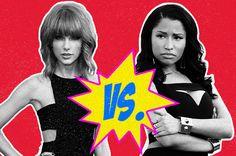 Billboard - Taylor Swift, Nicki Minaj Trade Barbs on Twitter Due To VMAs Snub