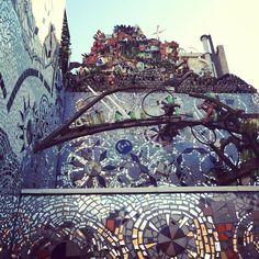 Magic Garden in #philadelphia #garden #mosaic #sculpture #picoftheday #photooftheday #mytravelgram