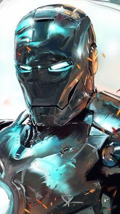 Iron Man by Dave Seguin