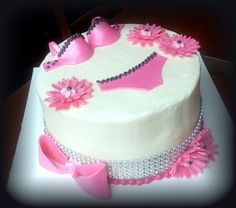 Lingerie bridal shower cake