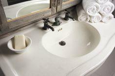 Country Bathroom by Justin Bishop