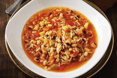 Σούπα μινεστρόνε λαχανικών με μαυρομάτικα-featured_image
