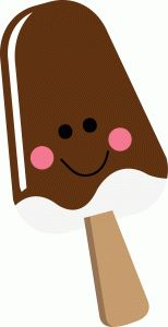 Silhouette Design Store - View Design #39897: happy chocolate popsicle